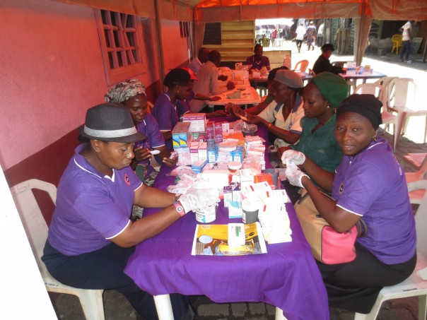 Wholistic Medical Group During Medical Outreach at Ajegunle