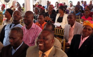 Cross Section of the Guests at the Hostel Dedication